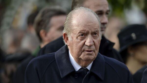 Il re emerito di Spagna Juan Carlos - Sputnik Italia