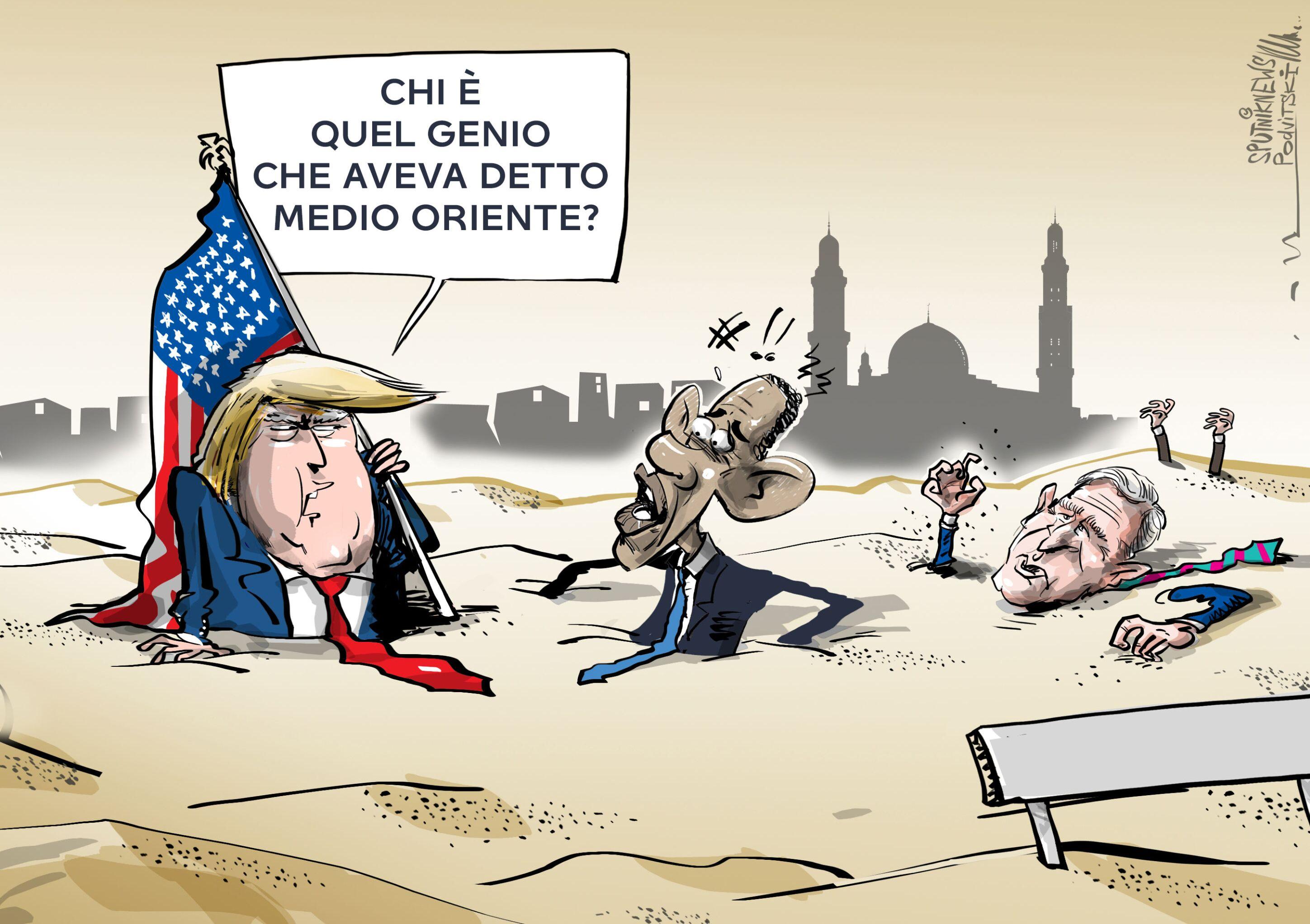 Trump: L'intervento in Medio Oriente è il più grande errore nella storia degli USA