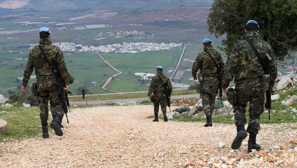 Soldati della missione di pace UNIFIL in Libano (foto d'archivo) - Sputnik Italia