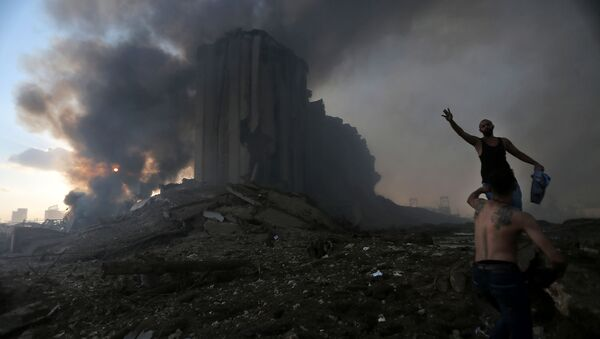 L'esplosione a Beirut - Sputnik Italia