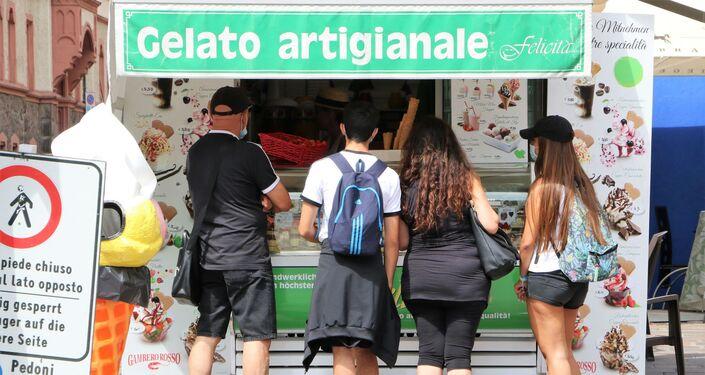 Gelateria a Bolzano