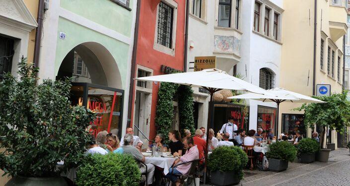 Un ristorante a Bolzano