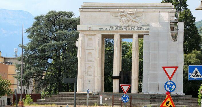 Il monumento alla Vittoria di Bolzano