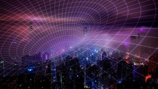 Una rappresentazione artistica delle radiazioni della rete 5G - Sputnik Italia