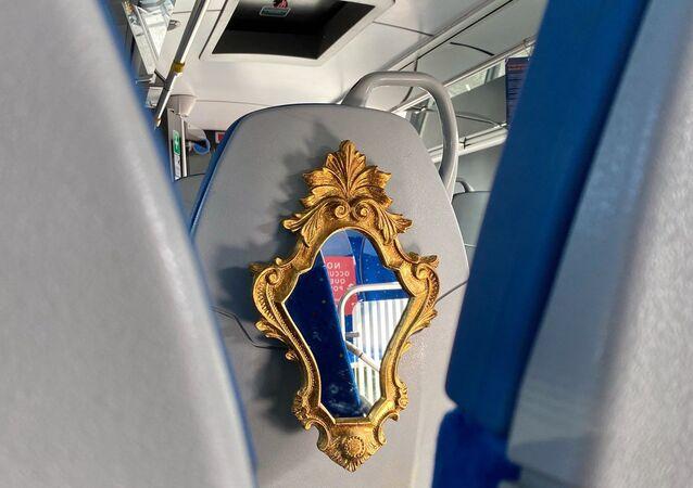 Specchio sui bus extra-urbani del Lazio