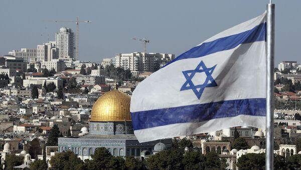 Bandiera israeliana Gerusalemme - Sputnik Italia
