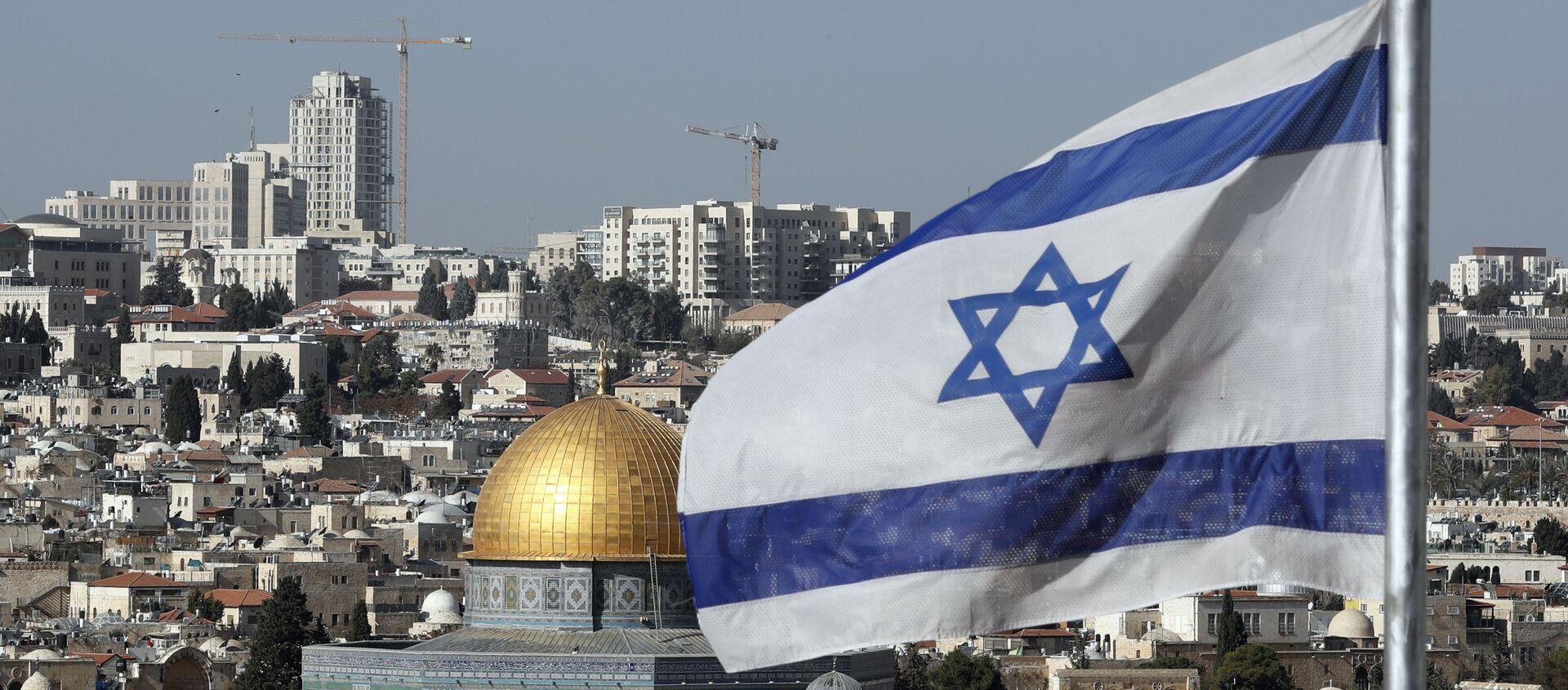 Bandiera israeliana Gerusalemme - Sputnik Italia, 1920, 06.08.2020