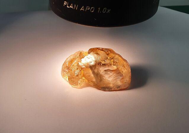 Diamante colorato di 236 carati