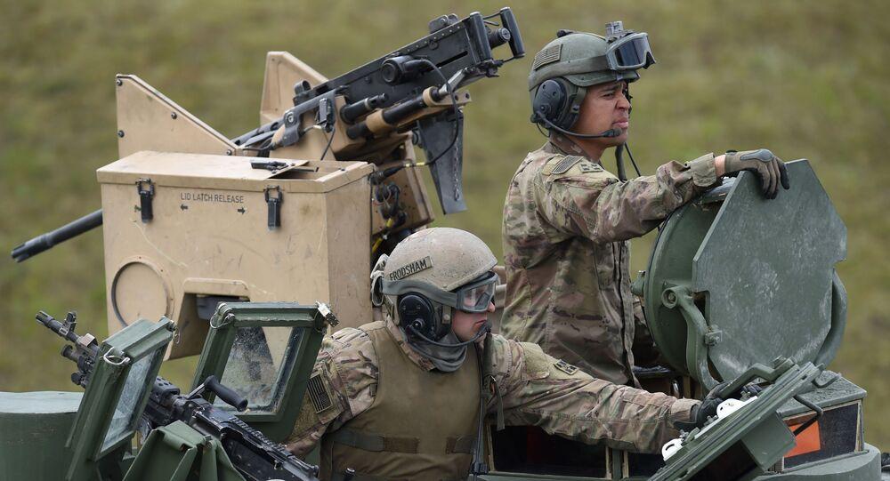 I soldati americani alle esercitazioni in Germania