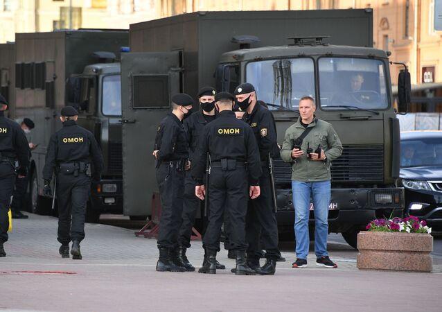 Polizia bielorussa