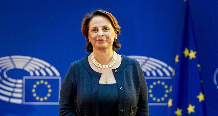 L'Eurodeputata dal partito Lega Luisa Regimenti