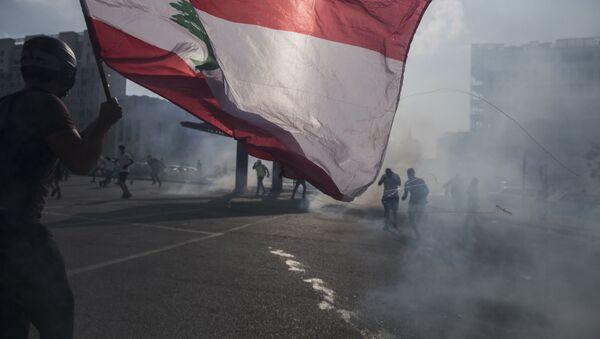Manifestazioni a Beirut - Sputnik Italia