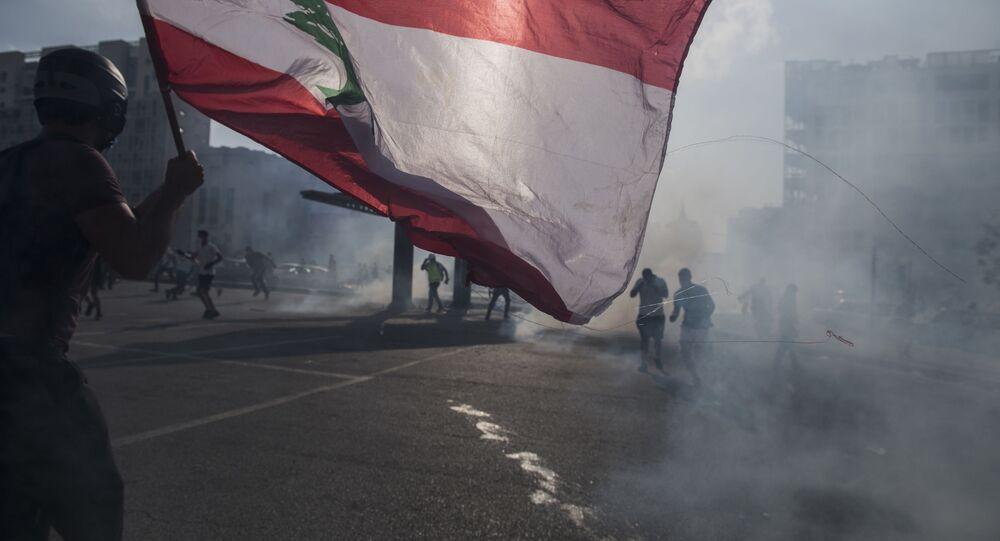 Manifestazioni a Beirut