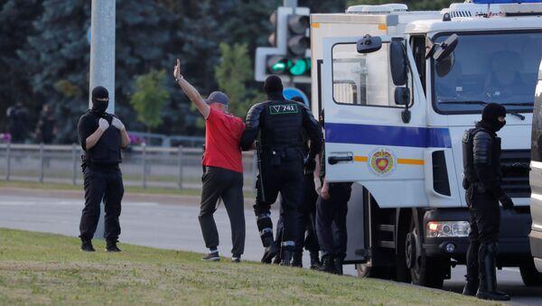 Arresti a Minsk - Sputnik Italia