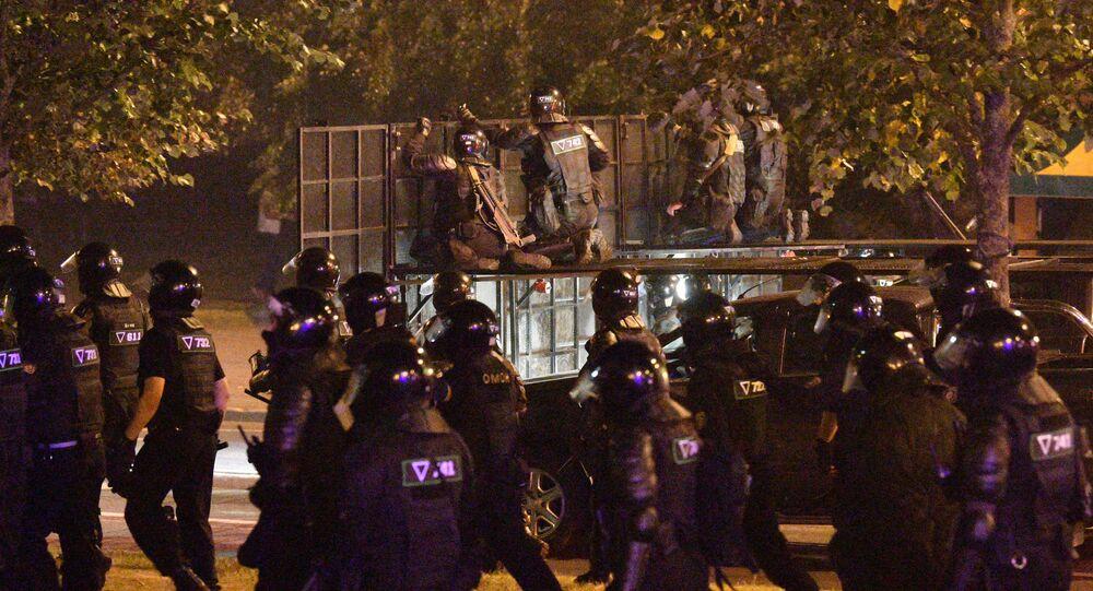 Scontri tra polizia e manifestanti in Bielorussia