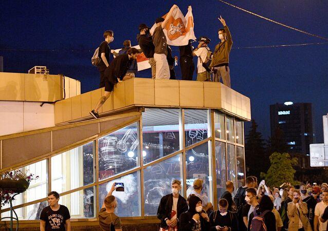 Le proteste a Minsk