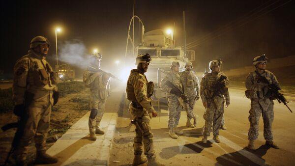 Soldati dell'esercito americano a Mosul, nord di Baghdad Iraq (File) - Sputnik Italia