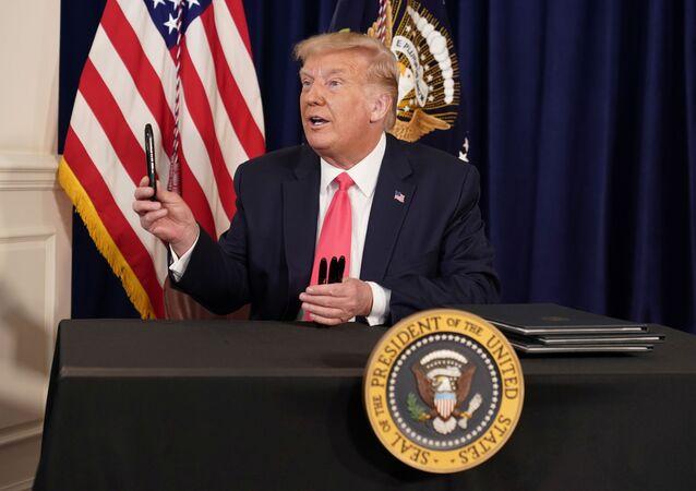 Il presidente Donald Trump