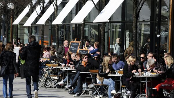 Un bar a Stoccolma - Sputnik Italia
