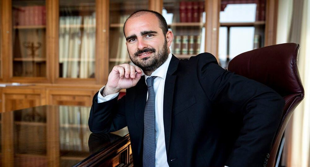 Deputato M5S Marco Rizzone
