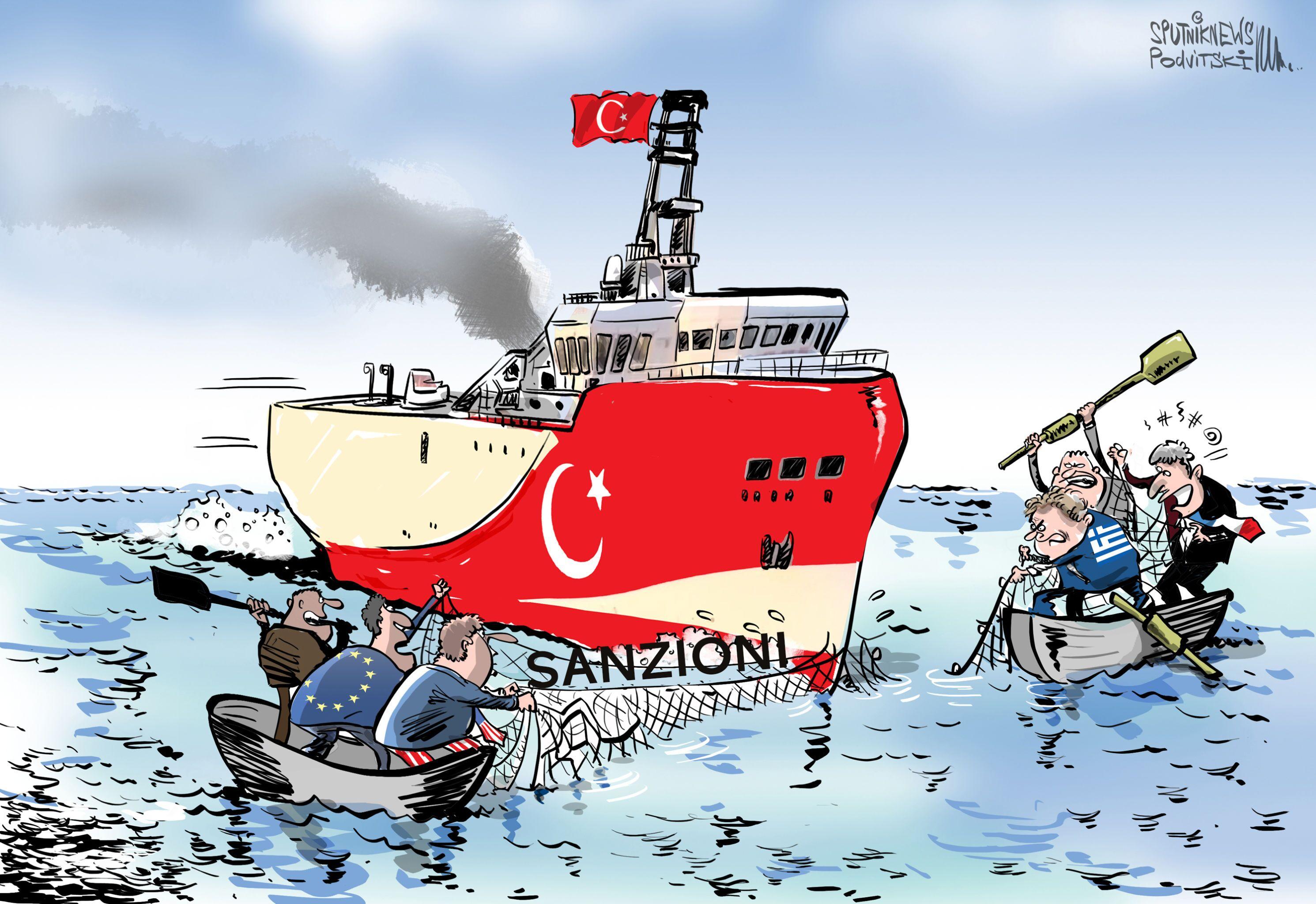 Politici USA chiedono sanzioni contro trivellazioni della Turchia nel Mediterraneo orientale