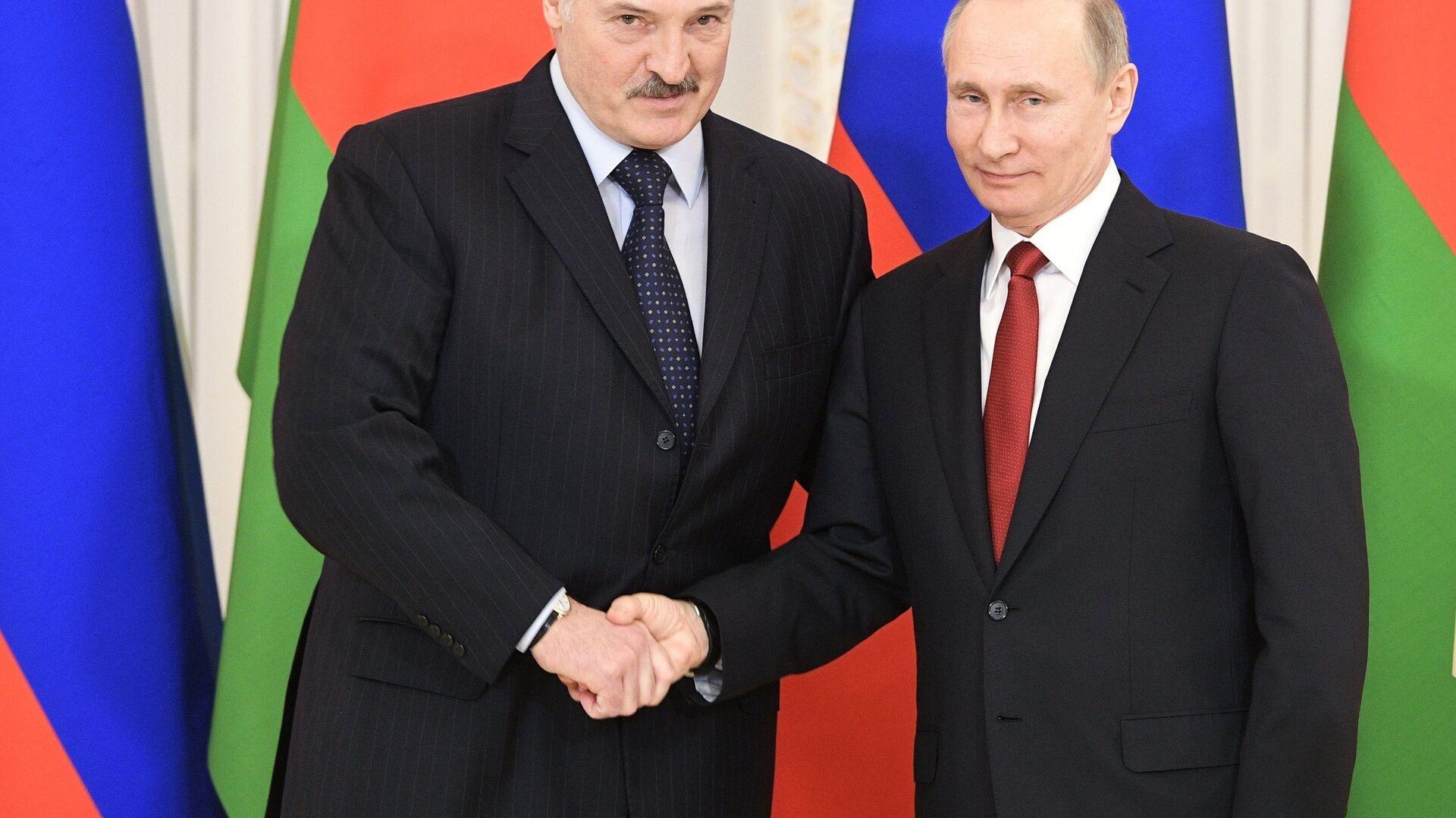 Vladimir Putin e Alexander Lukashenko - Sputnik Italia, 1920, 10.09.2021