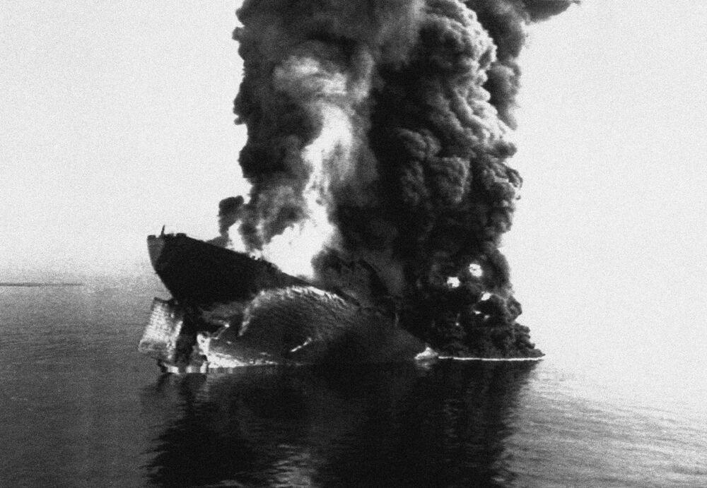 Il supertanker MT-Haven nel 1991 affondò al largo delle coste di Genova. Durante il disastro morirono sei membri dell'equipaggio e fino a 50mila tonnellate di petrolio greggio si dispersero nel Mar Ligure.
