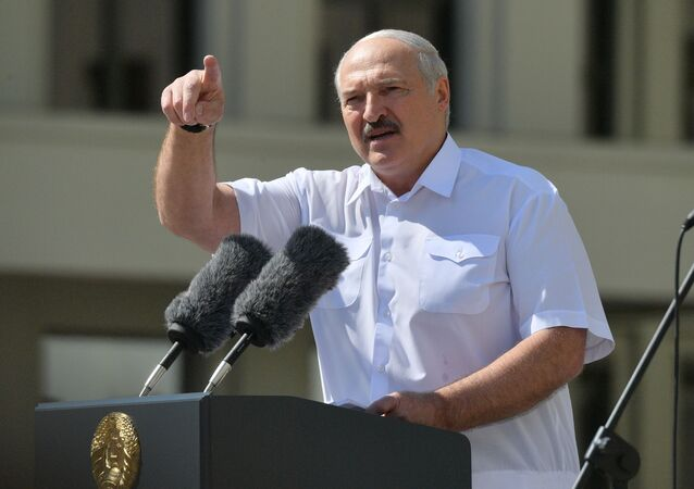 Il presidente bielorusso Aleksandr Lukashenko (foto d'archivio)