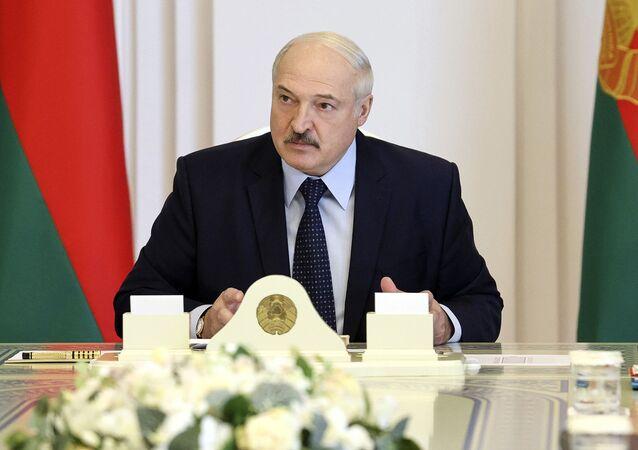 Il presidente bielorusso Alexander Lukashenko