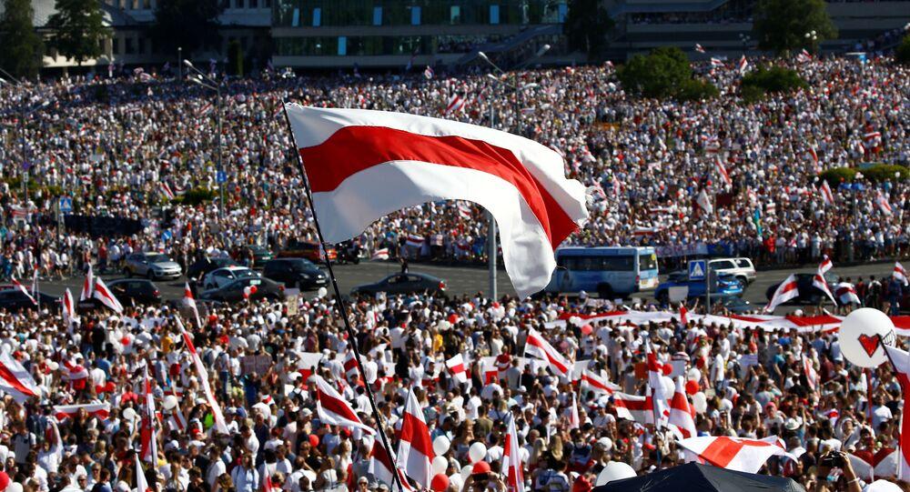 Proteste a Minsk, in Bielorussia