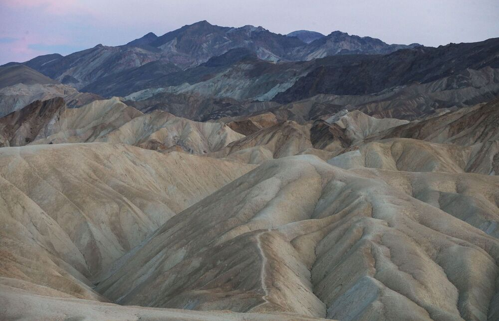 Il parco nazionale La Valle della Morte, USA.