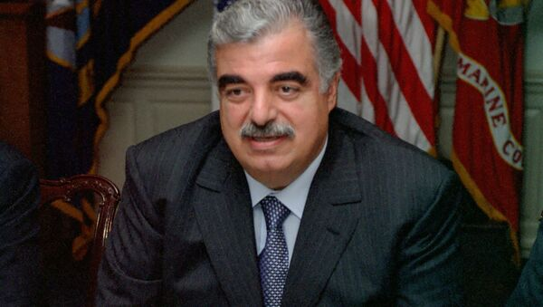 Rafiq Hariri  - Sputnik Italia