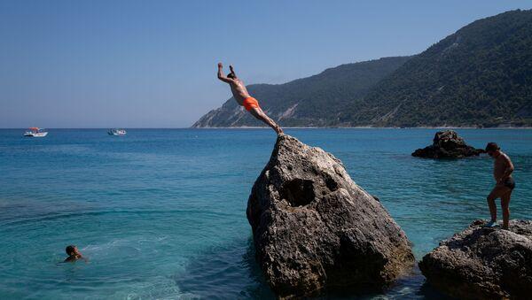 Turisti in Grecia - Sputnik Italia