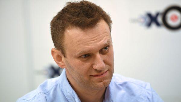 Politico ed attivista russo Alexey Navalny - Sputnik Italia