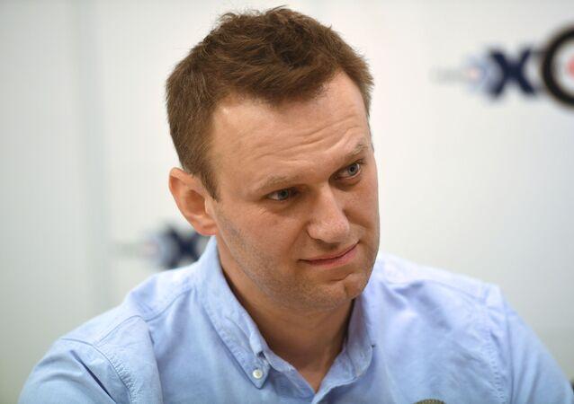 Politico ed attivista russo Alexey Navalny