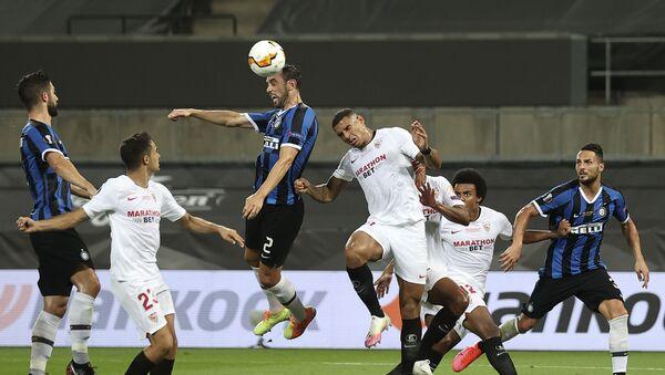 Il gol di Godin in Siviglia-Inter - Sputnik Italia