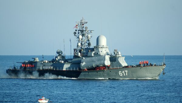 Small missile ship Mirazh of the Russian Black Sea Fleet - Sputnik Italia