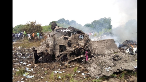 Presunto luogo dell'incidente aereo vicino a Juba, nel Sud Sudan. - Sputnik Italia