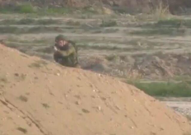 Un soldato dell'IDF