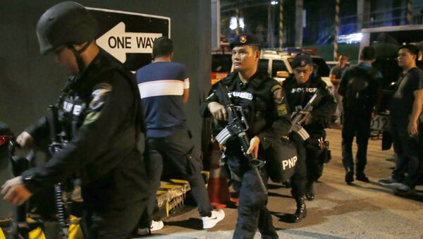 Membri SWAT della Polizia nazionale filippina (File) - Sputnik Italia