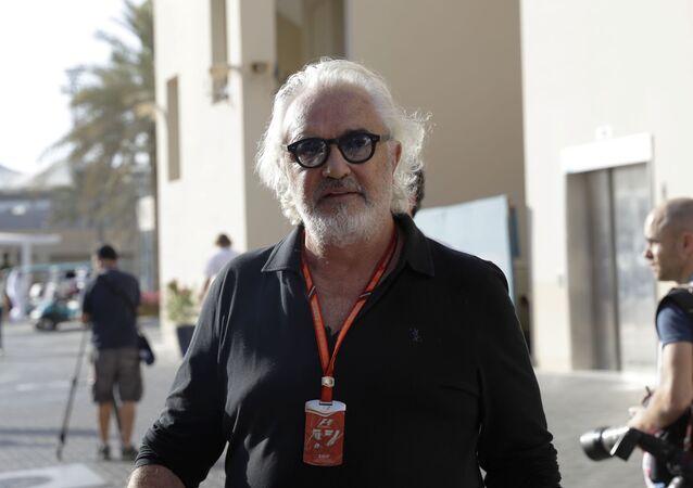 L'imprenditore italiano Flavio Briatore