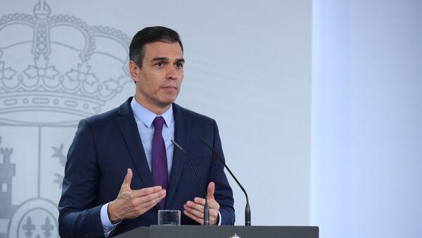 Pedro Sánchez, presidente del Gobierno español - Sputnik Italia
