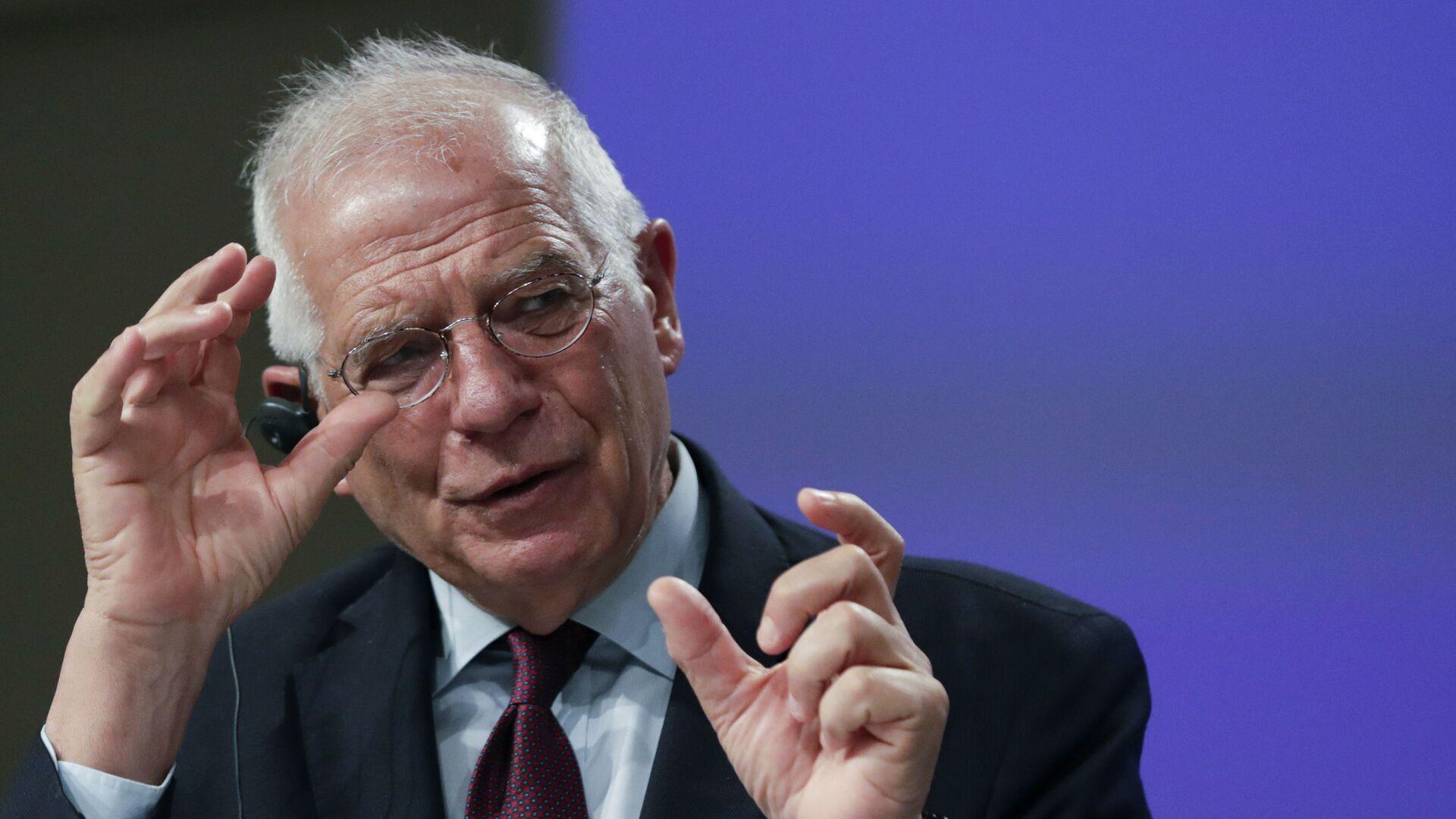 L'alto rappresentante per la politica estera e sicurezza dell'UE, Josep Borrell - Sputnik Italia, 1920, 30.08.2021
