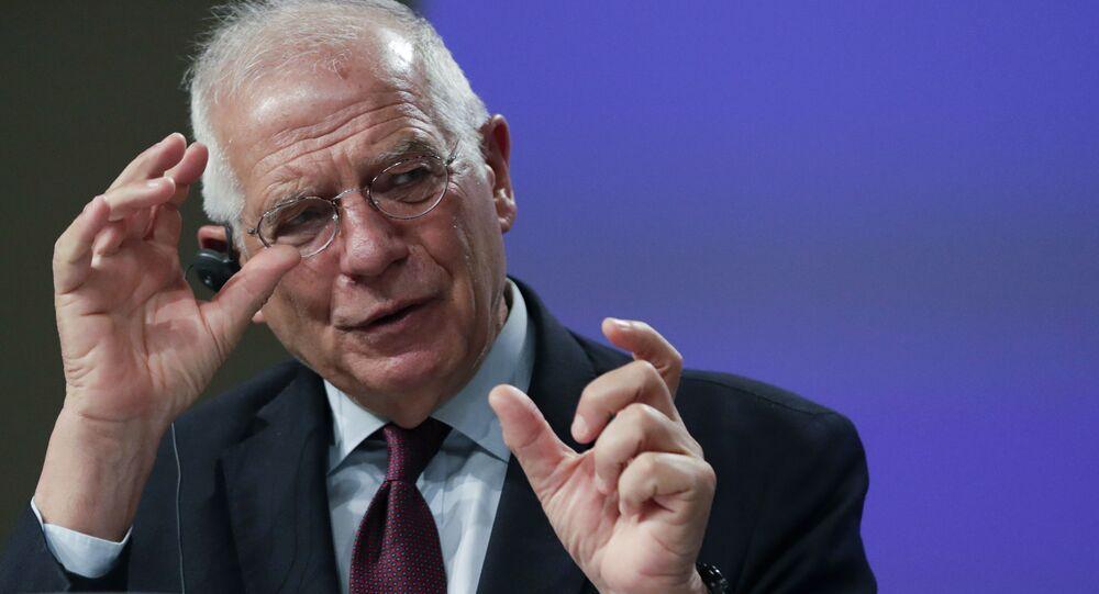 L'alto rappresentante per la politica estera e sicurezza dell'UE, Josep Borrell