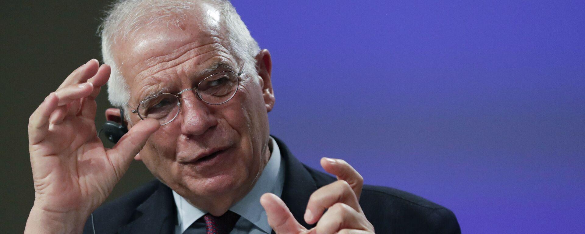 L'alto rappresentante per la politica estera e sicurezza dell'UE, Josep Borrell - Sputnik Italia, 1920, 02.09.2021