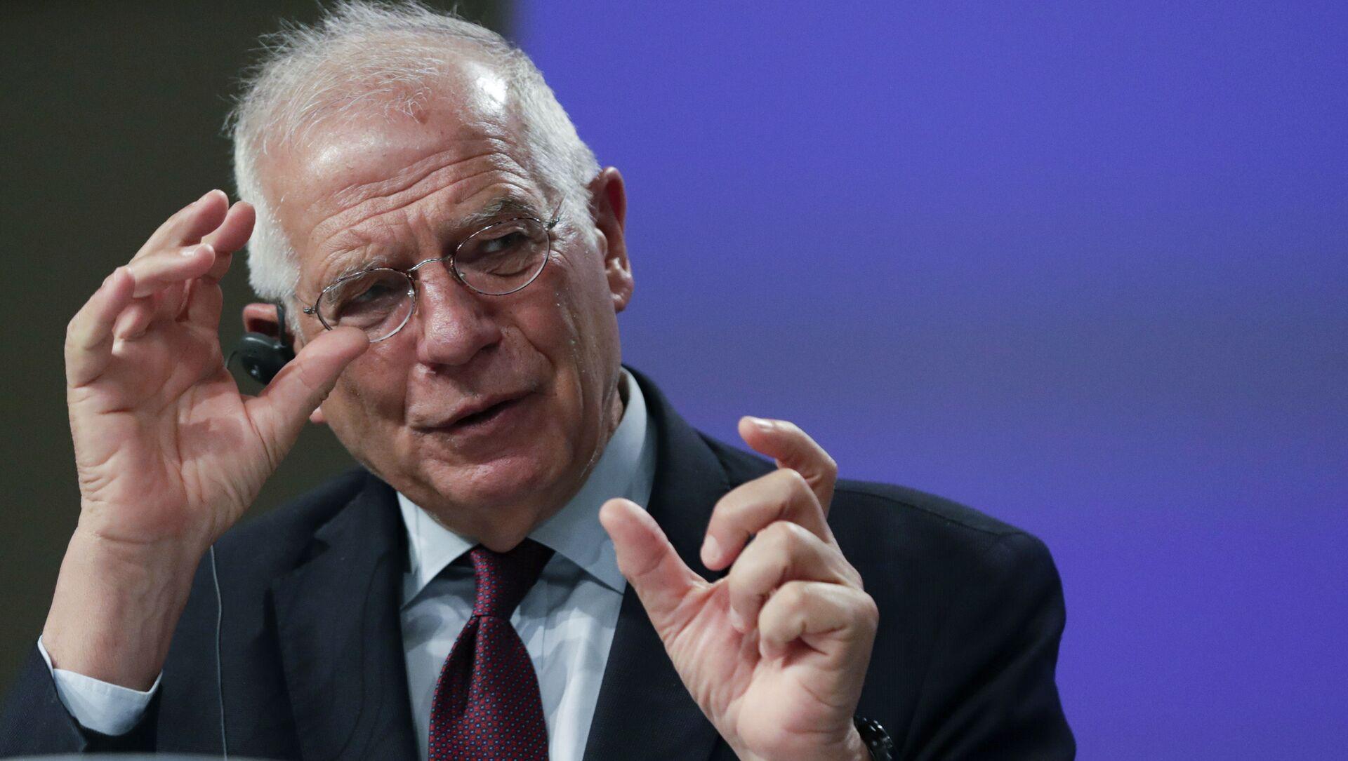 L'alto rappresentante per la politica estera e sicurezza dell'UE, Josep Borrell - Sputnik Italia, 1920, 08.02.2021