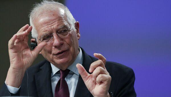 L'alto rappresentante per la politica estera e sicurezza dell'UE, Josep Borrell - Sputnik Italia