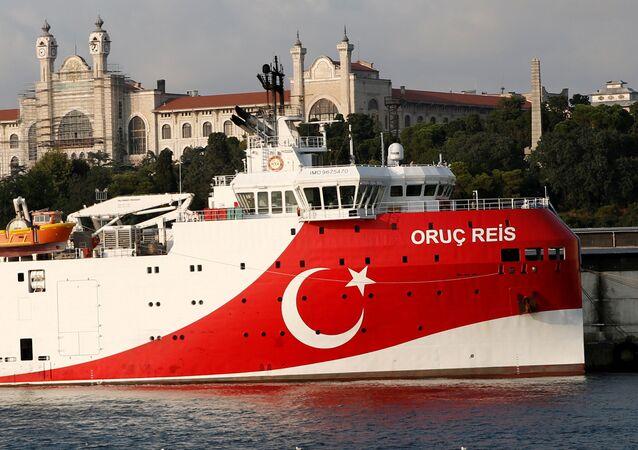 La nave turca Oruc Reis