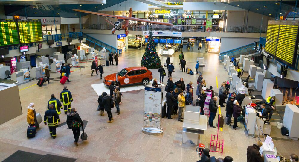 Aeroporto di Vilnius (foto d'archivio)