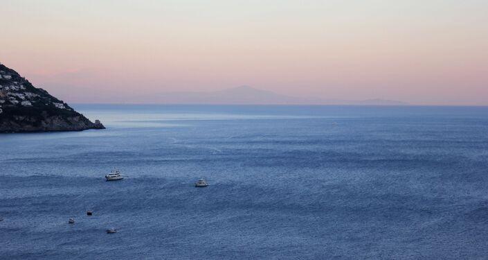 Una vista sul mare